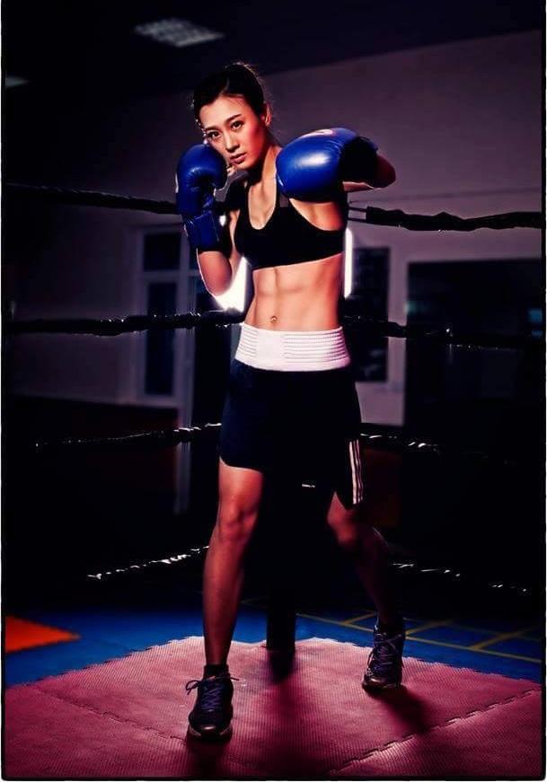 Hot girl boxing Nguyễn Thị Yến: Nếu có ai trêu, em chỉ lườm một cái... rồi thôi - Ảnh 3.