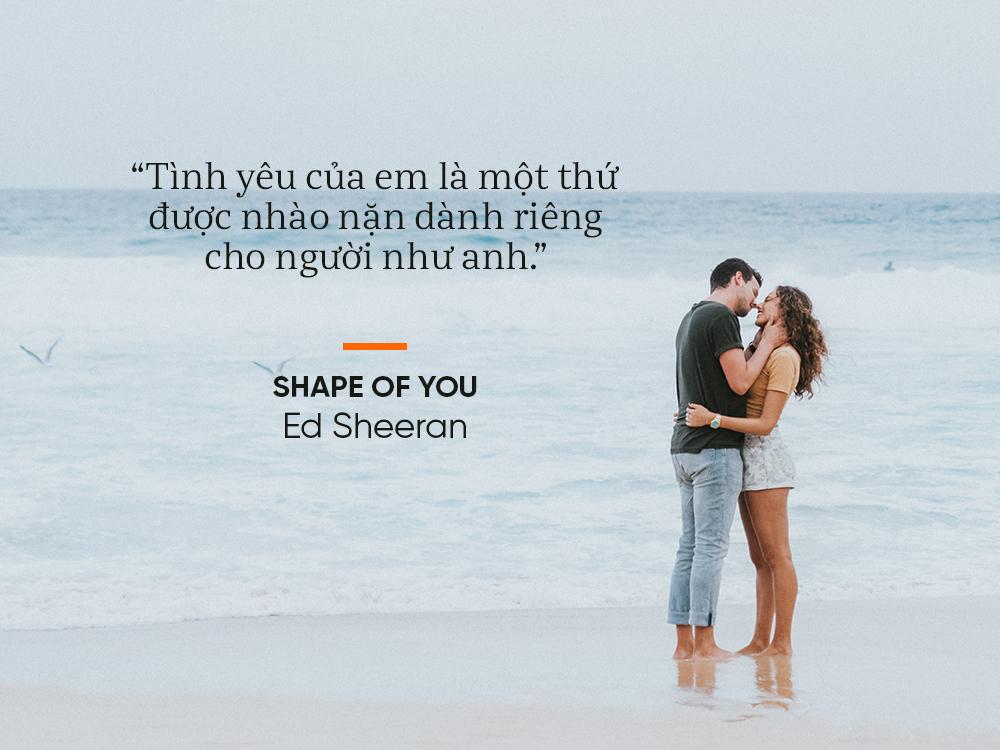 Học yêu qua 13 bản tình ca lãng mạn và chạm đến trái tim của Ed Sheeran - Ảnh 5.