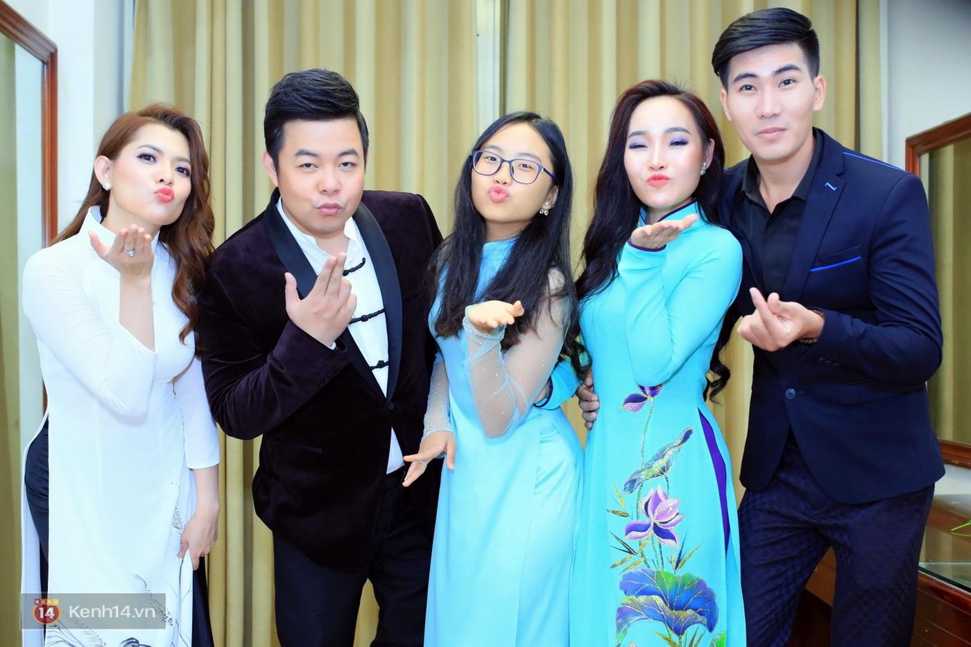 Phương Mỹ Chi ngày càng chững chạc, ân cần chăm sóc ba nuôi Quang Lê trong hậu trường - Ảnh 10.