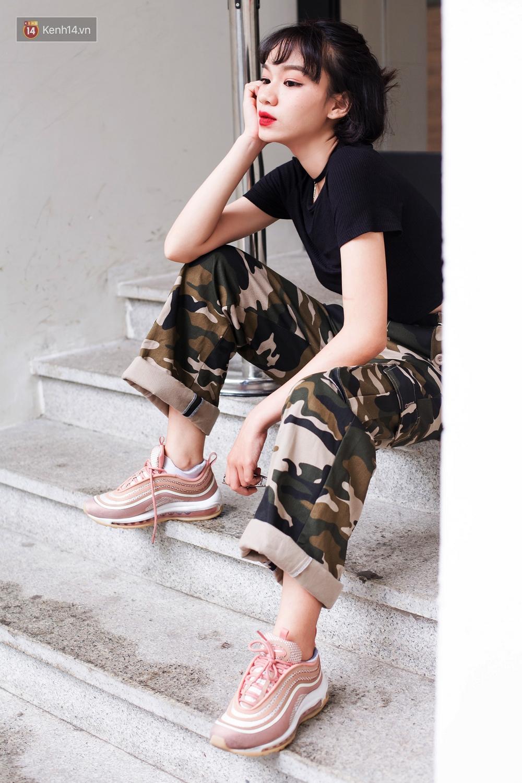 Ngạc nhiên chưa: Quần khaki ống rộng thời của bố mà Sơn Tùng từng mặc đang là hot trend của con gái khắp châu Á - Ảnh 11.