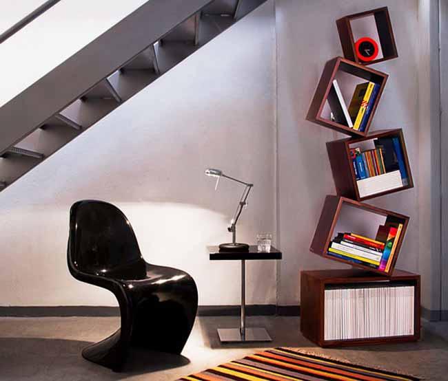 20 mẫu giá sách đẹp xuất sắc dù là người không thích đọc sách cũng muốn có trong nhà - Ảnh 21.