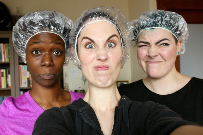 3 cô nàng này đã dùng thử thuốc nhuộm tóc không cần tẩy và ngã ngửa với kết quả - Ảnh 10.