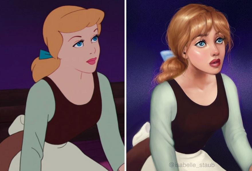 Chiêm ngưỡng nhan sắc lồng lộn của những nàng công chúa Disney sau khi đi phẫu thuật thẩm mỹ - Ảnh 19.