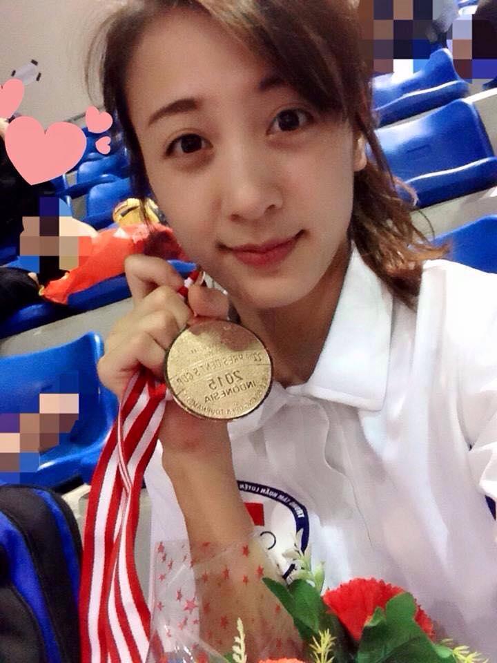 Hot girl boxing Nguyễn Thị Yến: Nếu có ai trêu, em chỉ lườm một cái... rồi thôi - Ảnh 7.