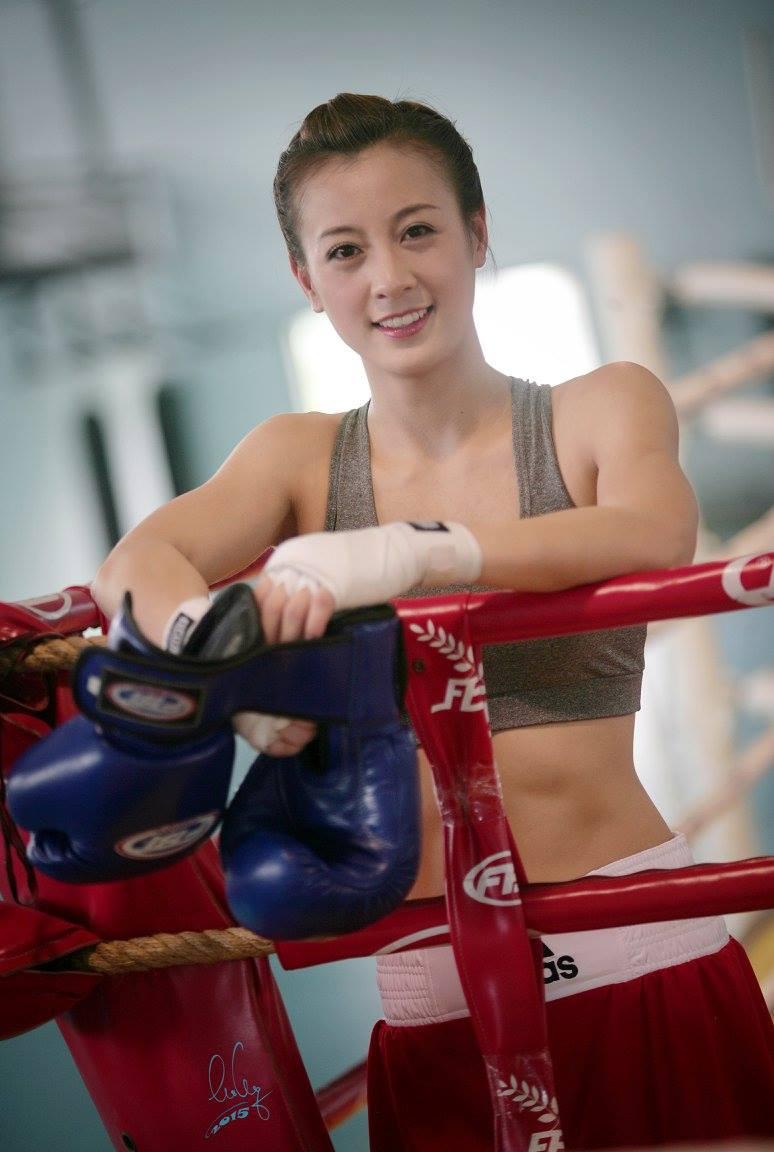Hot girl boxing Nguyễn Thị Yến: Nếu có ai trêu, em chỉ lườm một cái... rồi thôi - Ảnh 4.
