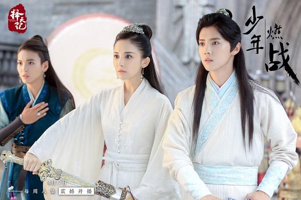 """Bạn gái Trương Hàn đã bớt """"đơ"""" khi sánh đôi cùng Luhan trên màn ảnh - Ảnh 12."""