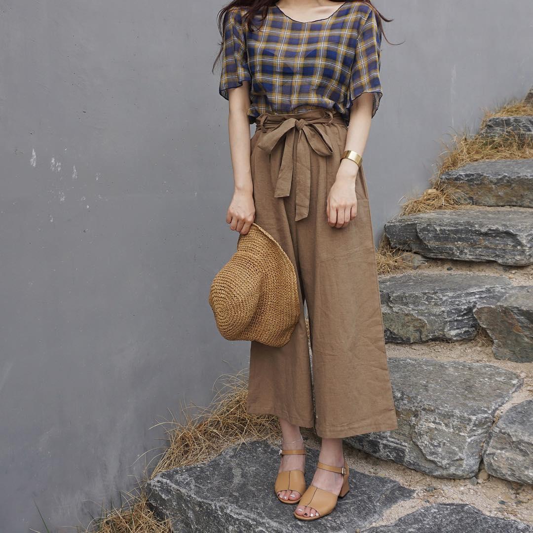 Ngay cả khi không thích quần vải, các cô nàng cũng sẽ đổ đứ đừ trước kiểu quần thắt nơ xinh xắn này - Ảnh 15.