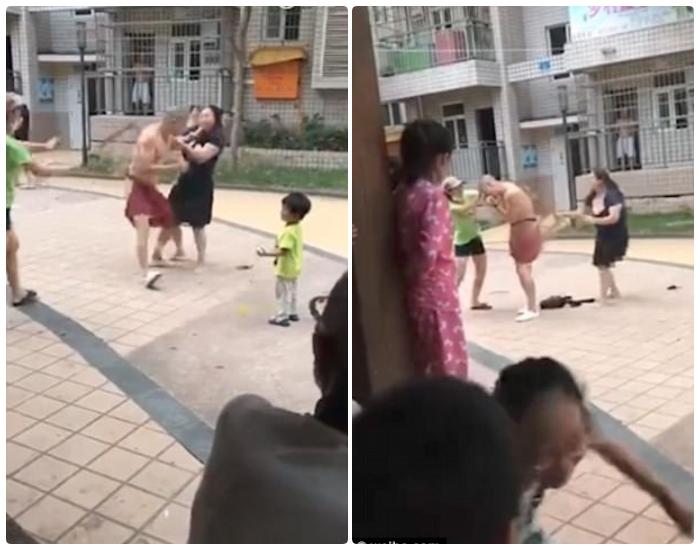 Vợ hợp lực với bồ của chồng tẩn cho gã đàn ông lăng nhăng một trận nên thân - Ảnh 3.