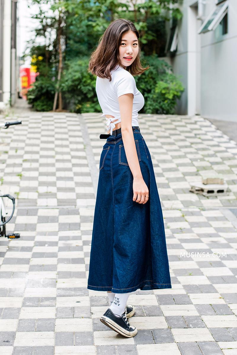 Cùng trưng dụng quần shorts nhưng giới trẻ Hàn lại có cả tá cách mix, cách nào cũng hút mắt thôi rồi! - Ảnh 14.