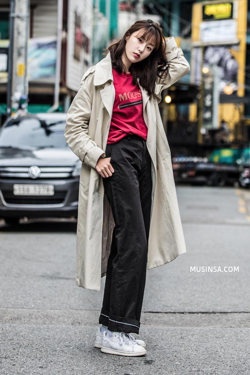 Giới trẻ Hàn lại mang đến cả tá gợi ý mặc đẹp mà chẳng cần cầu kỳ qua street style mãn nhãn - Ảnh 12.