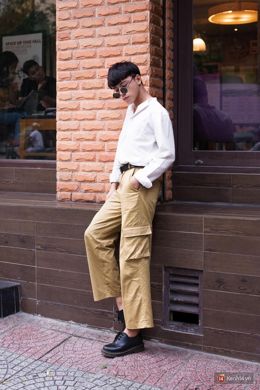 Ngạc nhiên chưa: Quần khaki ống rộng thời của bố mà Sơn Tùng từng mặc đang là hot trend của con gái khắp châu Á - Ảnh 12.