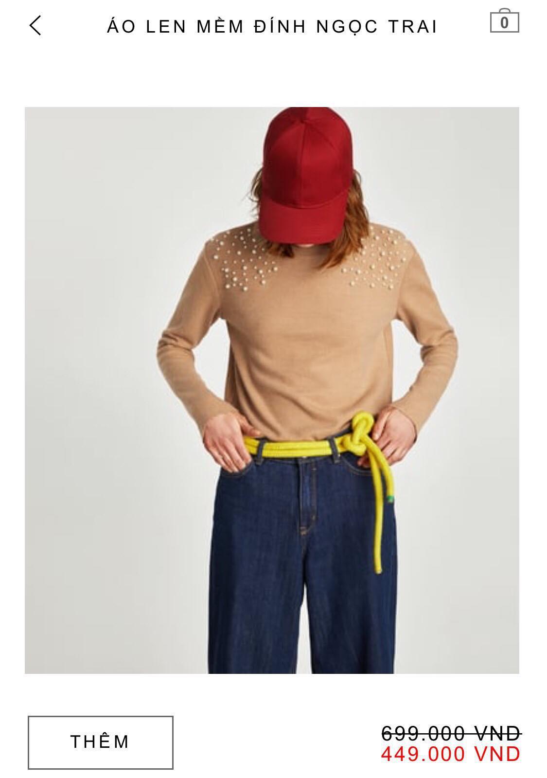 14 mẫu áo len, áo nỉ dưới 500.000 VNĐ xinh xắn, trendy đáng sắm nhất đợt sale này của Zara - Ảnh 4.
