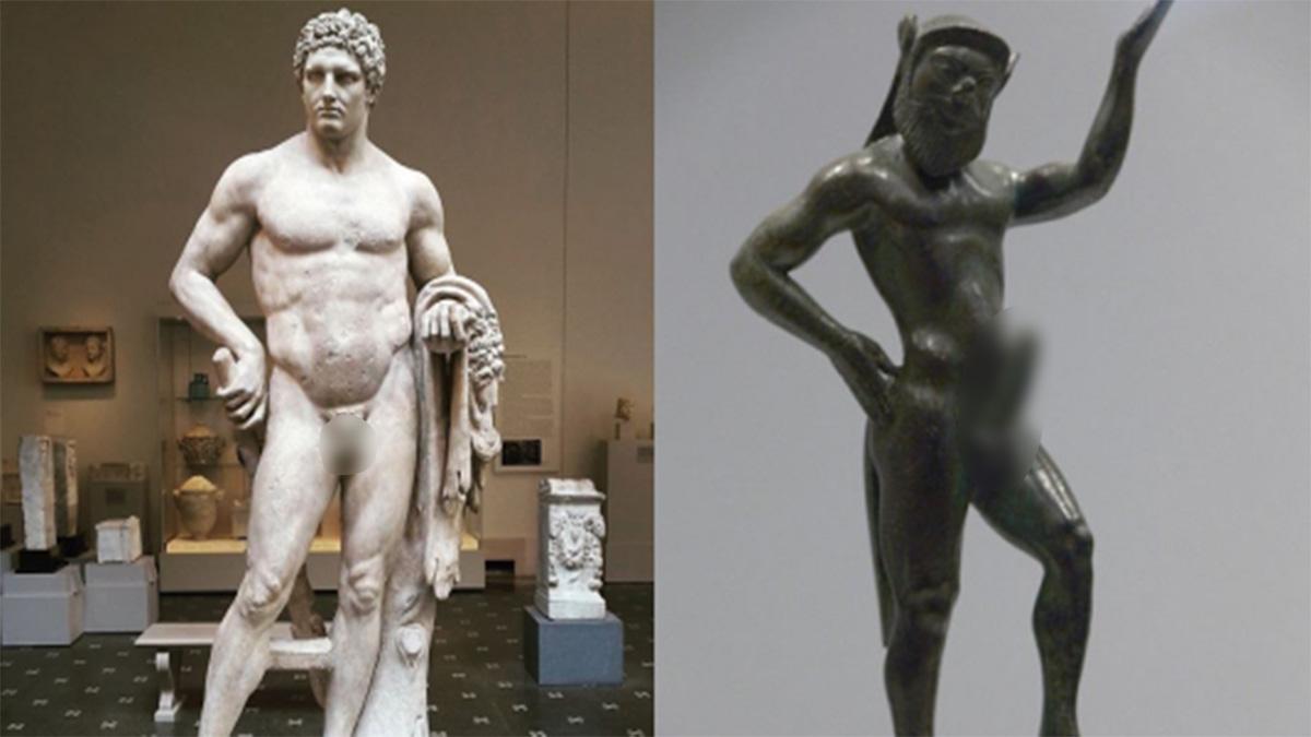 Thì ra đây là lý do các bức tượng Hy Lạp cổ lại có chỗ ấy bé một cách thảm thương - Ảnh 3.