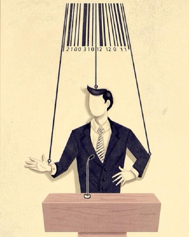 Những bức tranh biếm họa về con người khiến chúng ta phải giật mình suy ngẫm - Ảnh 13.