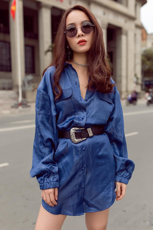 Team Yến Trang tung bộ ảnh streetstyle cực chất trước đêm thi The Remix - Ảnh 1.