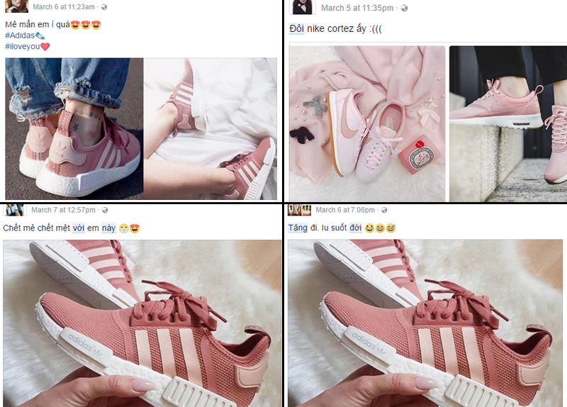 Không phải sneaker đen hay trắng, sneaker màu bánh bèo mới là boss trong lòng con gái Việt thời gian này - Ảnh 10.