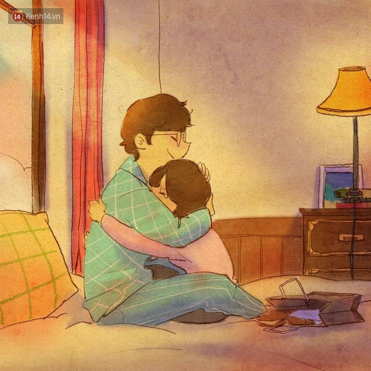 Cảm giác bình yên và ấm áp nhất: Được rúc vào vòng tay bạn trai ngủ quên cả thế giới! - Ảnh 17.