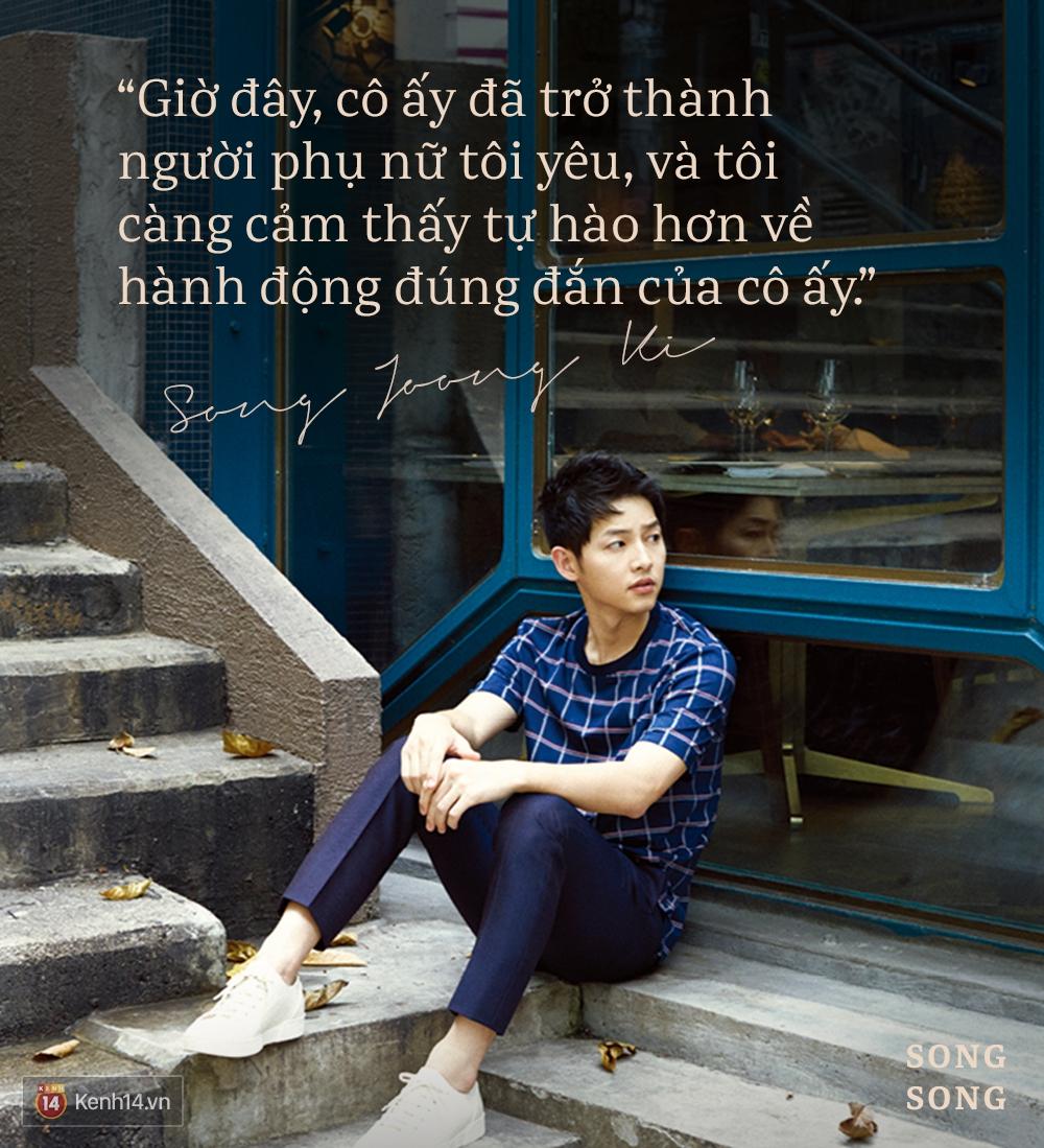 Xem cách Song Joong Ki và Song Hye Kyo tỏ tình mới thấy: Một khi đã yêu, mọi lời nói đều có thể ngôn tình hóa - Ảnh 13.