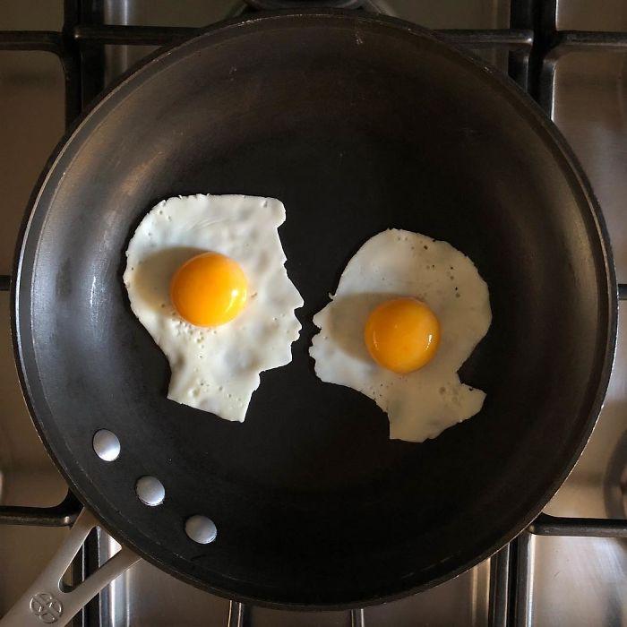 Anh chàng ốp la trứng không theo cách bình thường, cuối cùng lại làm ra những bức tranh nghệ thuật - Ảnh 17.