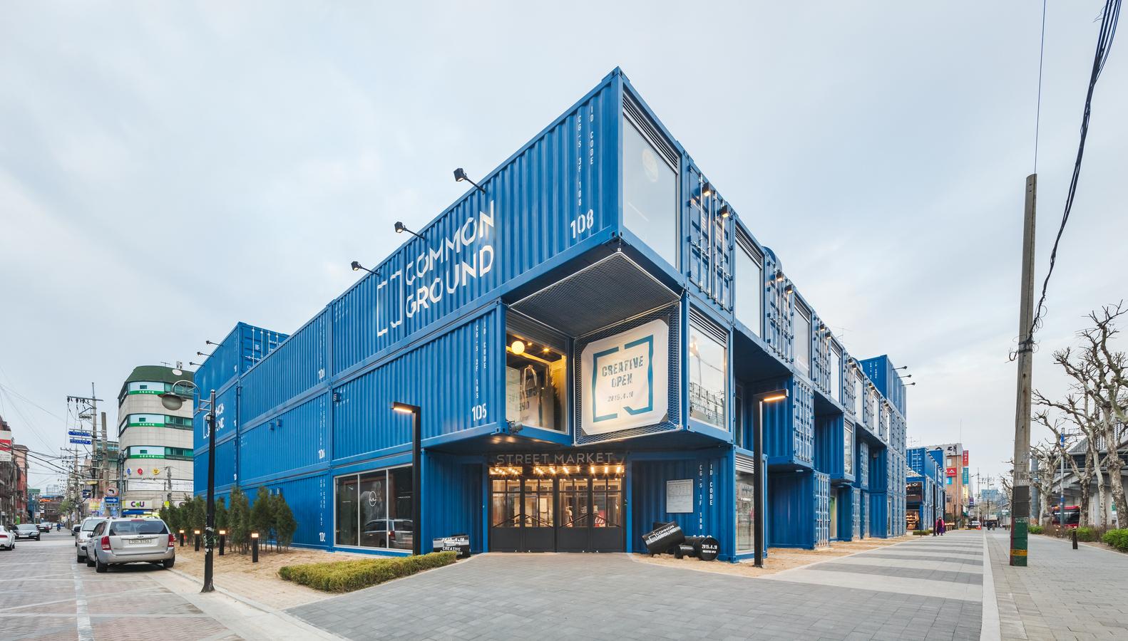 Common Ground - khu concept mall làm từ container siêu chất của giới trẻ Seoul - Ảnh 3.