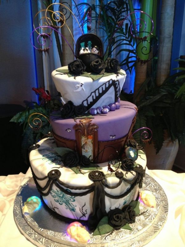 15 mẫu bánh cưới cảm hứng từ phim hoạt hình Disney - Ảnh 11.
