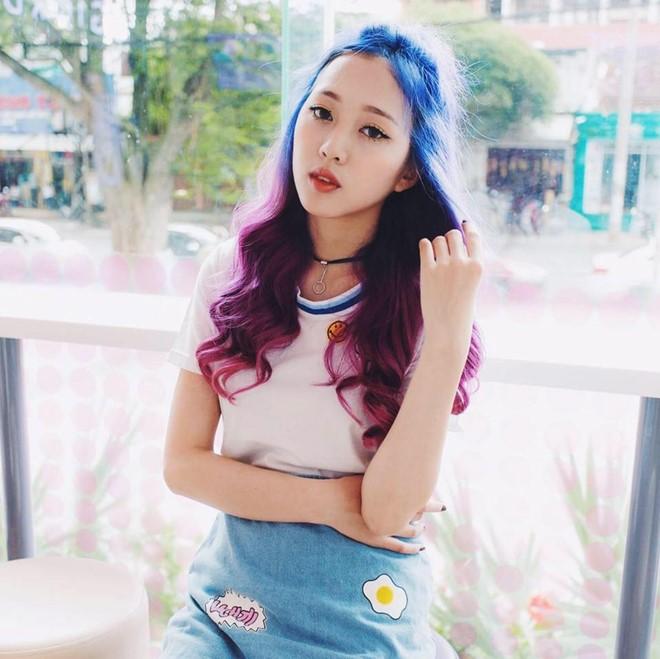 Cô gái tóc tím vô tình nổi tiếng khi làm khán giả của Giọng ải giọng ai - Ảnh 8.