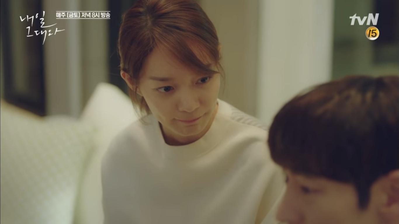 """""""Tomorrow With You"""": Thót tim vì Shin Min Ah tự """"chui đầu vào rọ"""" - Ảnh 4."""