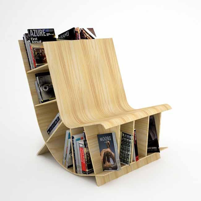 20 mẫu giá sách đẹp xuất sắc dù là người không thích đọc sách cũng muốn có trong nhà - Ảnh 27.