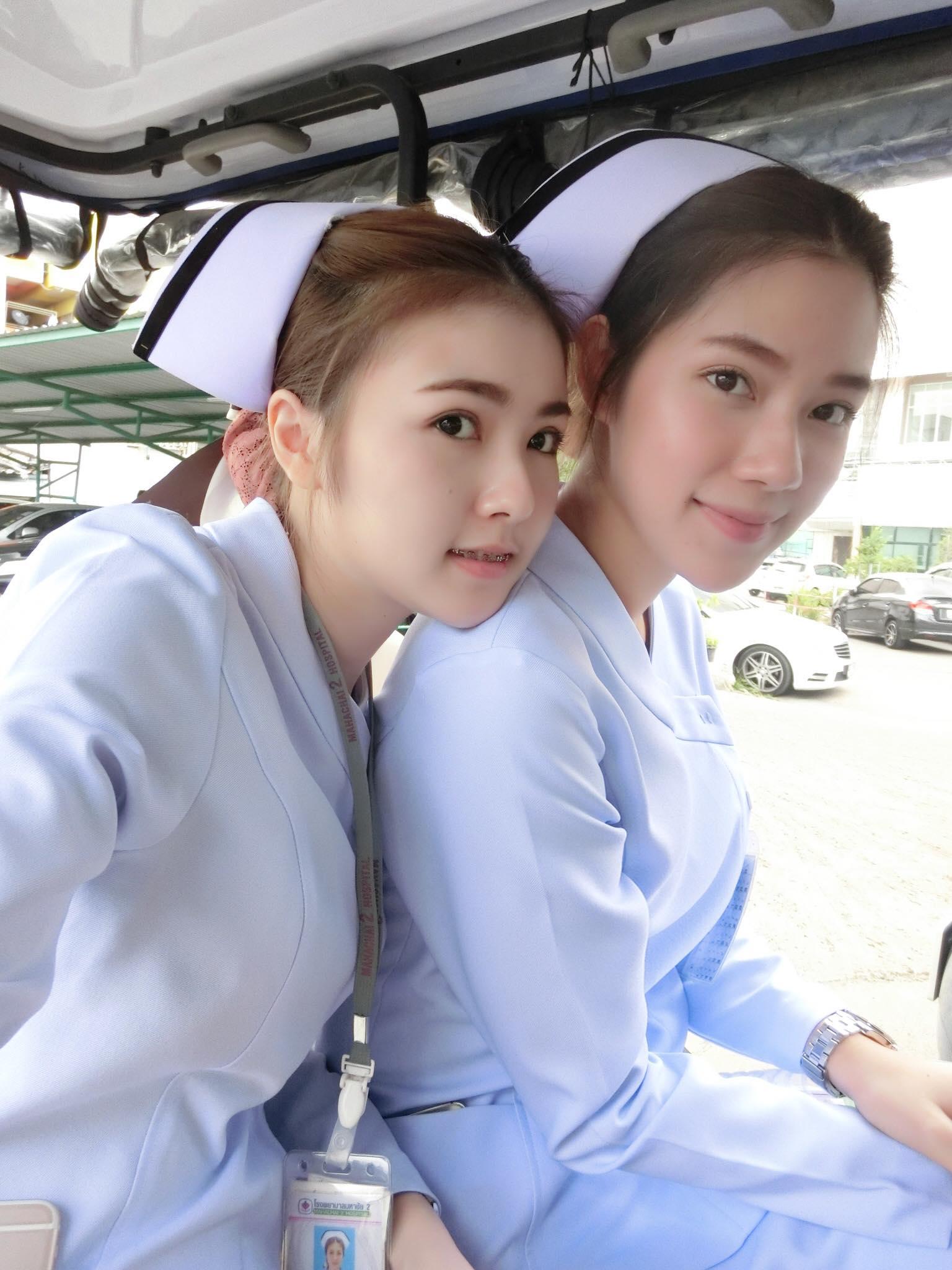 Bức ảnh siêu hot: 3 cô y tá đã xinh lại còn làm cùng viện với nhau! - Ảnh 5.