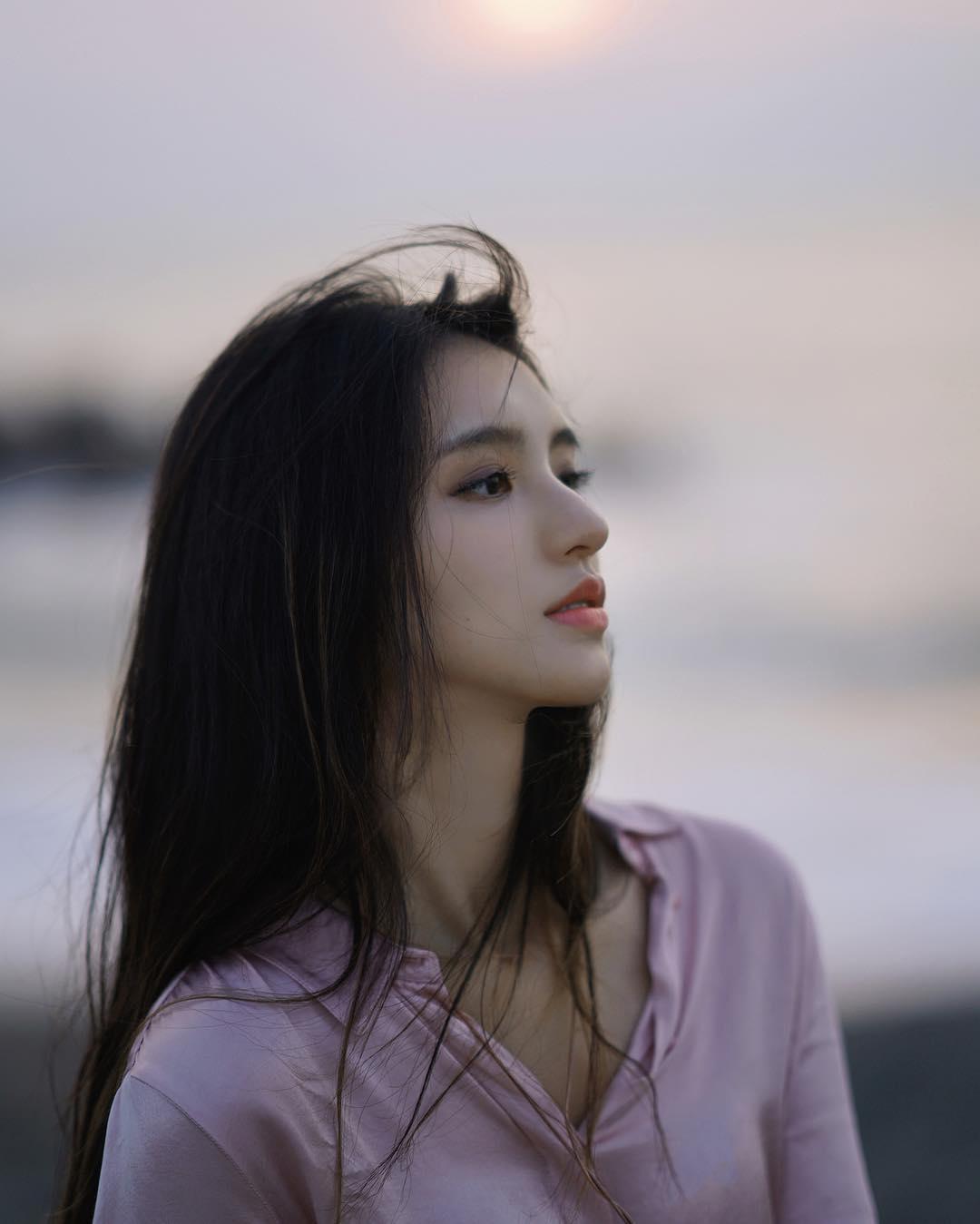 Cô bạn Đài Loan gây bão vì góc nghiêng thần thánh đẹp đến nao lòng - Ảnh 1.