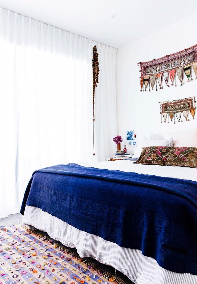 10 gợi ý trang trí phòng ngủ theo phong cách du mục phóng khoáng - Ảnh 15.