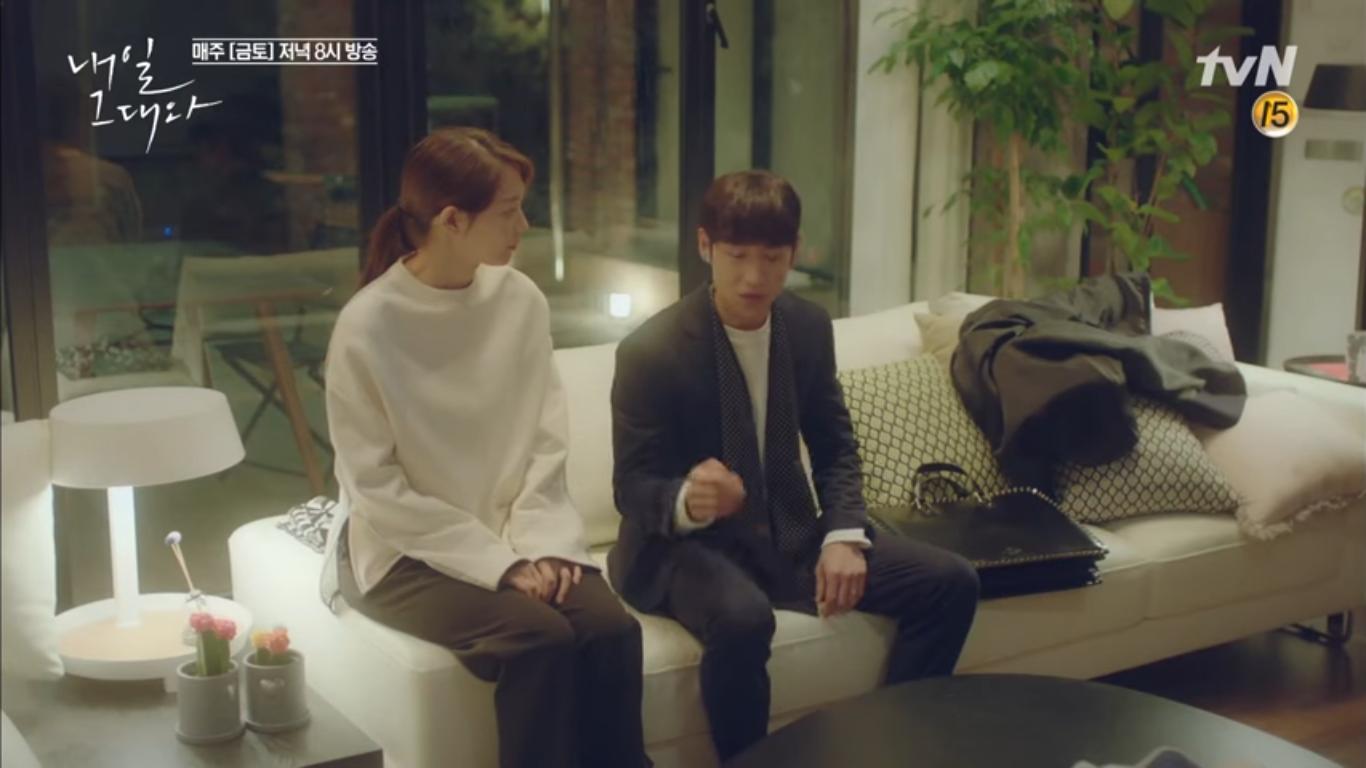 """""""Tomorrow With You"""": Thót tim vì Shin Min Ah tự """"chui đầu vào rọ"""" - Ảnh 5."""