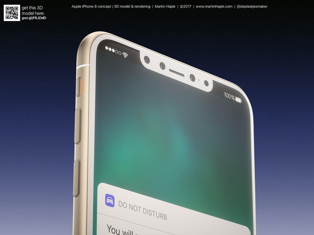 Cận cảnh vẻ đẹp mê mẩn của iPhone 8 có thể làm bạn dốc hết hầu bao để mua ngay - Ảnh 7.