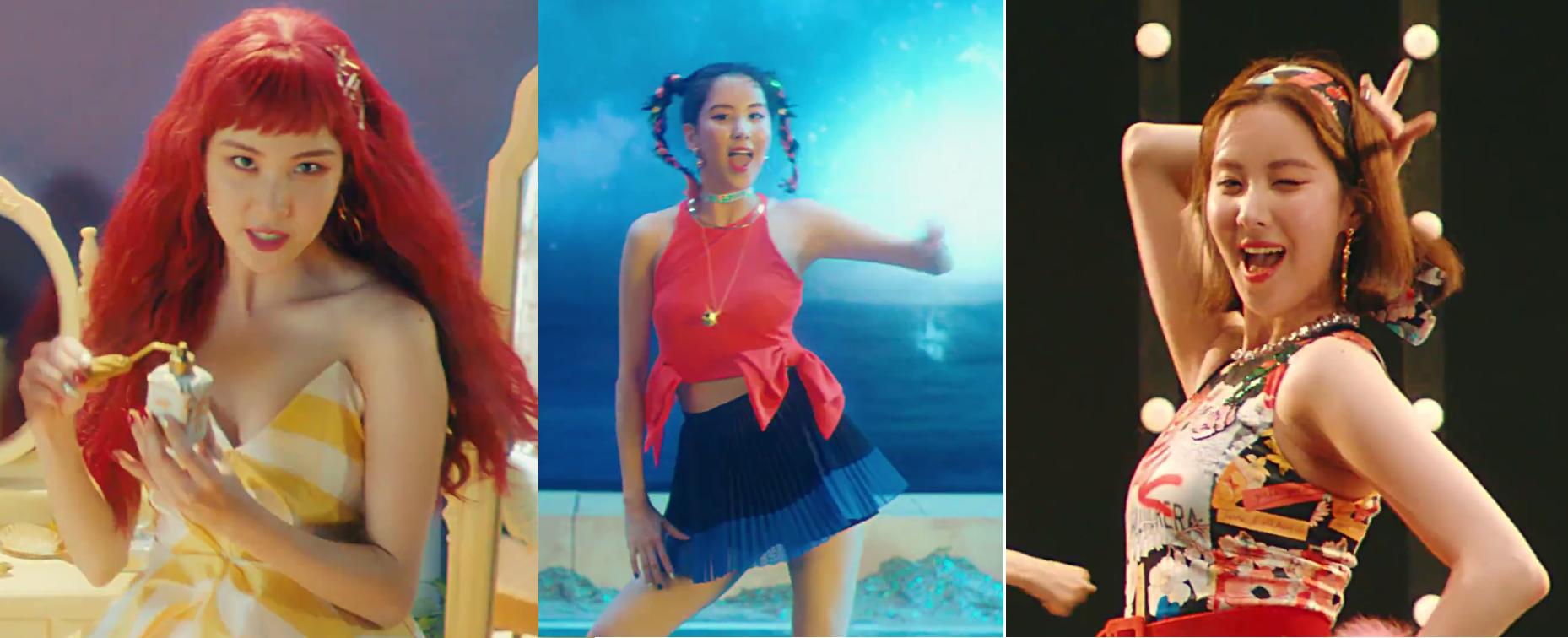 Soi loạt kiểu tóc cùng cách makeup thời thượng được SNSD bê vào 2 MV mới toanh - Ảnh 17.