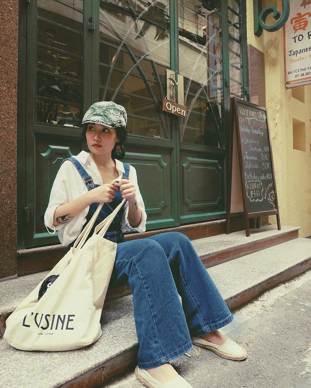 Hiếm ai được như Louis Hà, hot girl mi nhon chỉ diện crop top và quần cạp cao mà vẫn đẹp quên sầu - Ảnh 16.