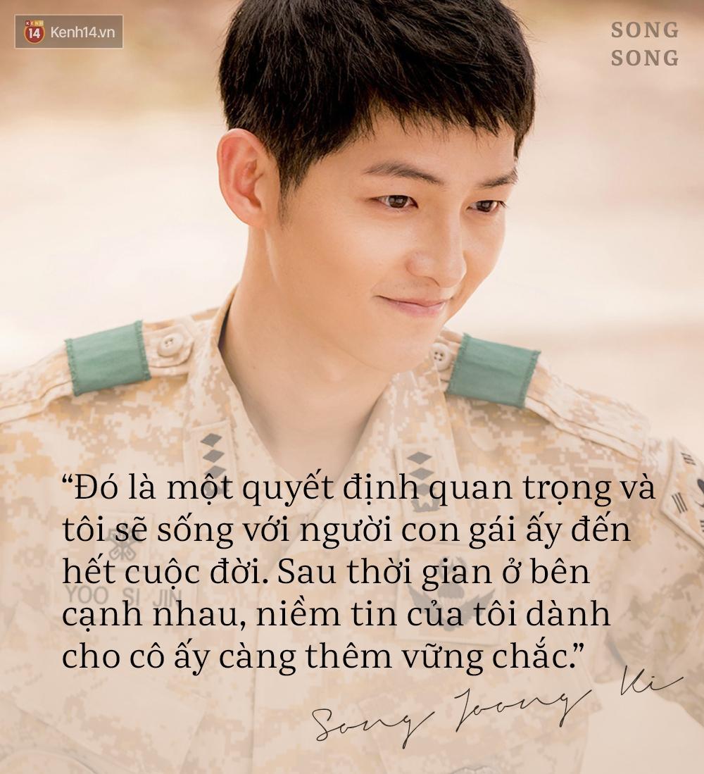 Xem cách Song Joong Ki và Song Hye Kyo tỏ tình mới thấy: Một khi đã yêu, mọi lời nói đều có thể ngôn tình hóa - Ảnh 15.