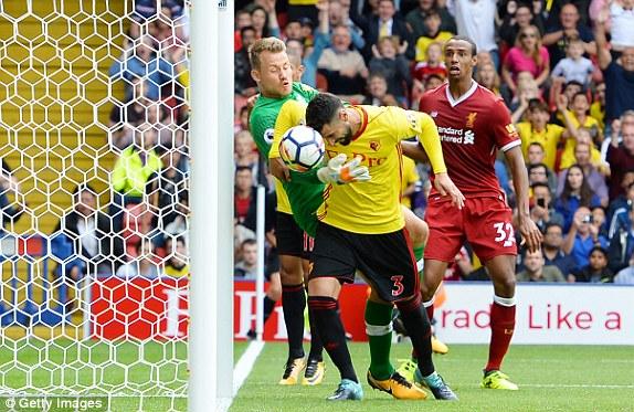 Liverpool đánh rơi chiến thắng ở phút bù giờ - Ảnh 3.