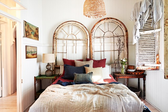 10 gợi ý trang trí phòng ngủ theo phong cách du mục phóng khoáng - Ảnh 3.