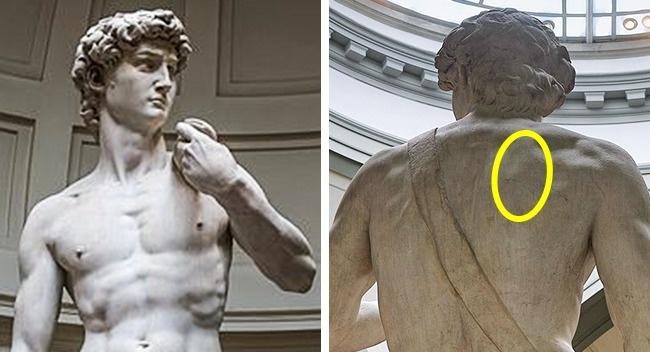 Điều không hoàn hảo ở bức tượng khỏa thân đẹp nhất thế giới - Ảnh 2.