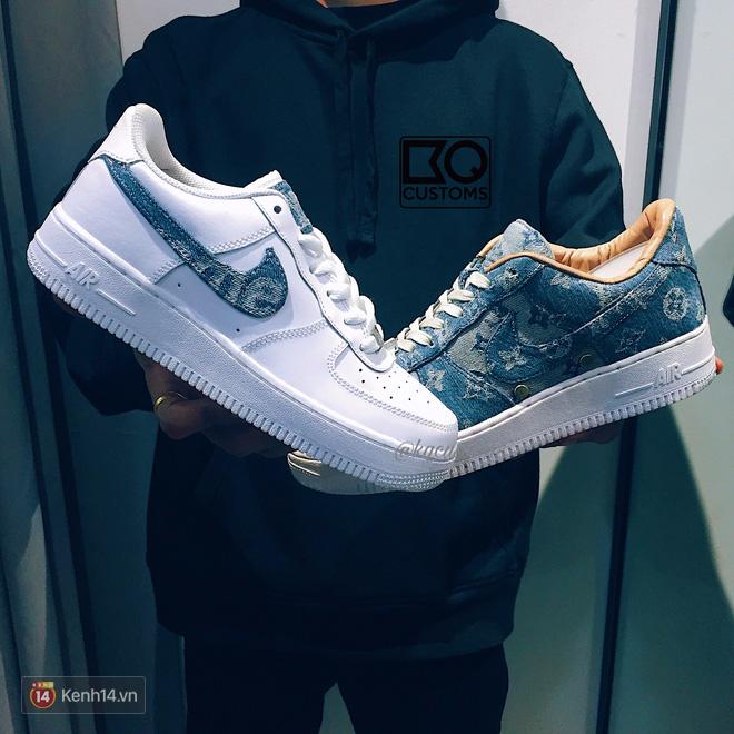 9x Việt độ giày từ đồ Louis Vuitton x Supreme hàng chục triệu đồng đang khiến giới chơi sneakers phát sốt - Ảnh 25.