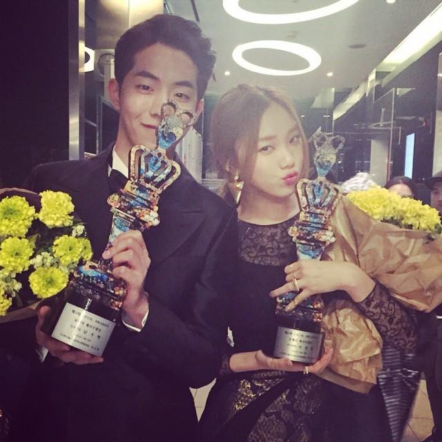 Clip Lee Sung Kyung ngại ngùng vì bất ngờ bị bắt gặp tại fanmeeting của Nam Joo Hyuk gây chú ý - Ảnh 7.