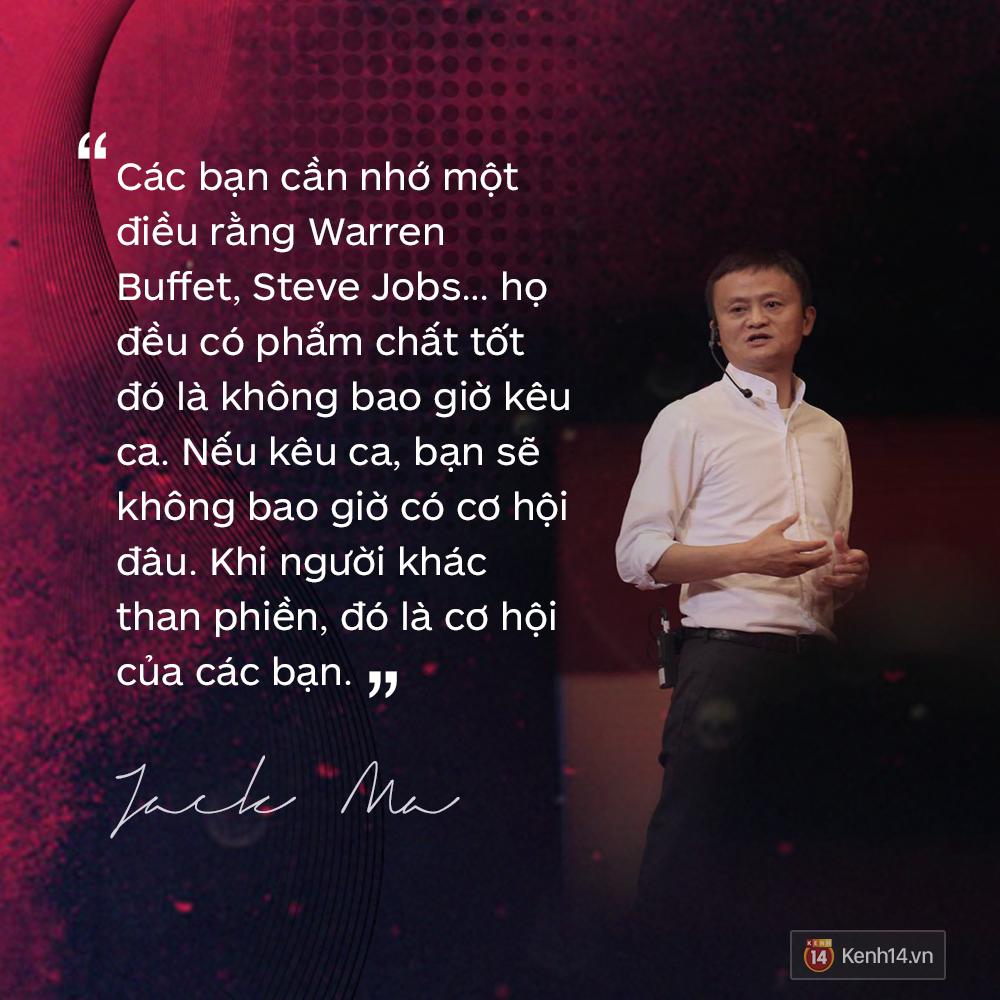 Loạt phát ngôn đầy cảm hứng tỷ phú Jack Ma vừa gửi đến các bạn trẻ Việt Nam - Ảnh 15.