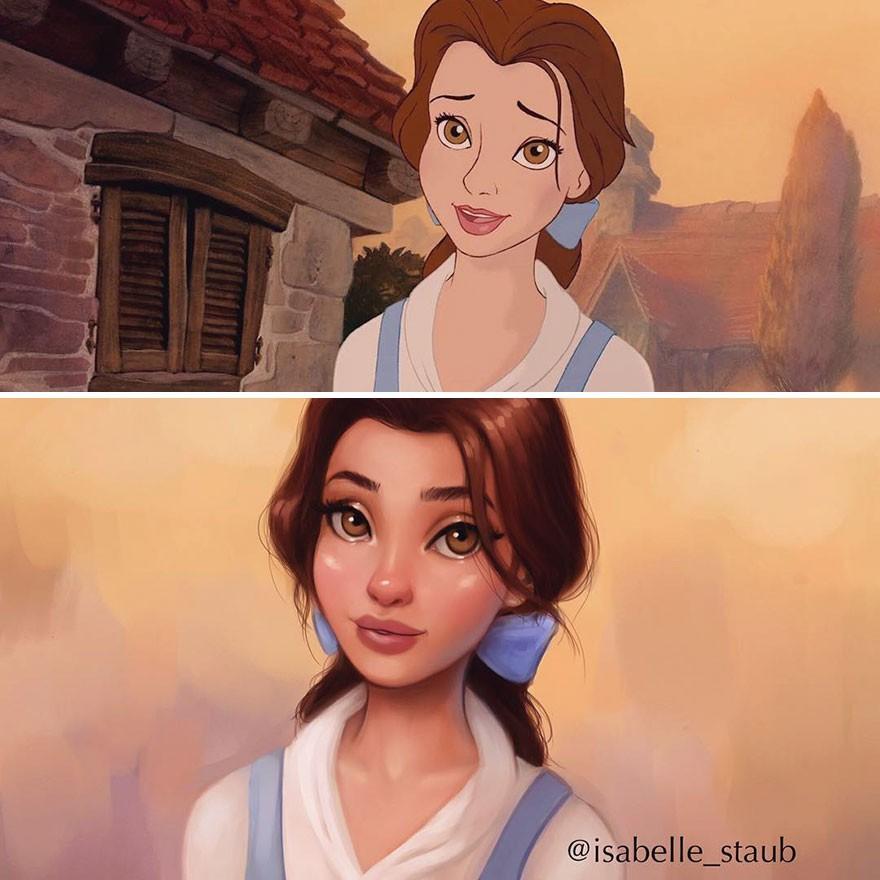 Chiêm ngưỡng nhan sắc lồng lộn của những nàng công chúa Disney sau khi đi phẫu thuật thẩm mỹ - Ảnh 27.