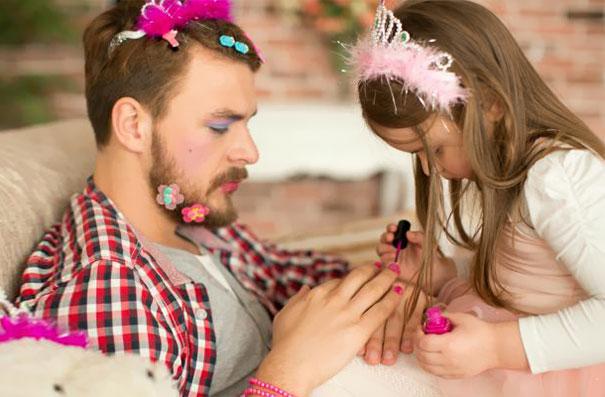 15 khoảnh khắc yêu ơi là yêu của các ông bố và con gái cưng - Ảnh 12.