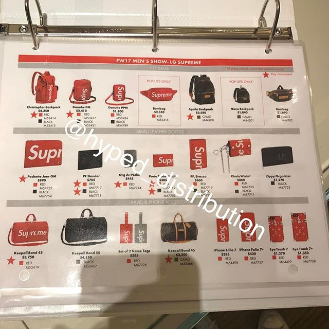 Lộ giá toàn BST Supreme x Louis Vuitton: đắt nhất đến gần 100 triệu đồng, rẻ nhất là 6,5 triệu đồng - Ảnh 5.