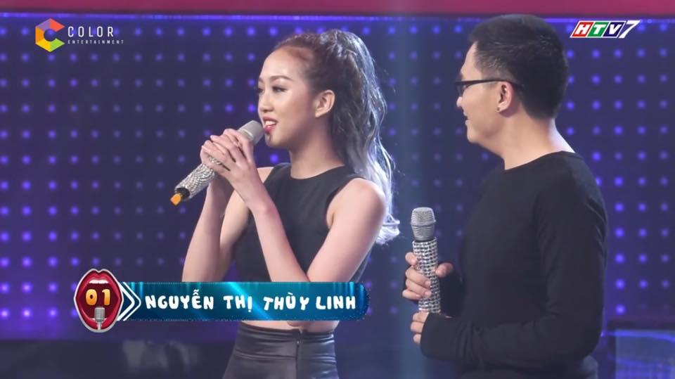 Cô gái tóc tím vô tình nổi tiếng khi làm khán giả của Giọng ải giọng ai - Ảnh 5.