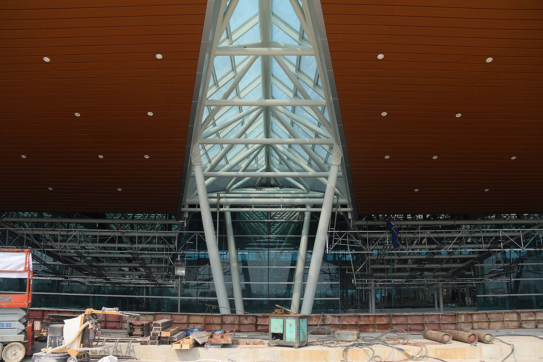 Cận cảnh nhà ga hành khách quốc tế hơn 3.500 tỷ đồng sắp hoàn thành ở Đà Nẵng - Ảnh 15.