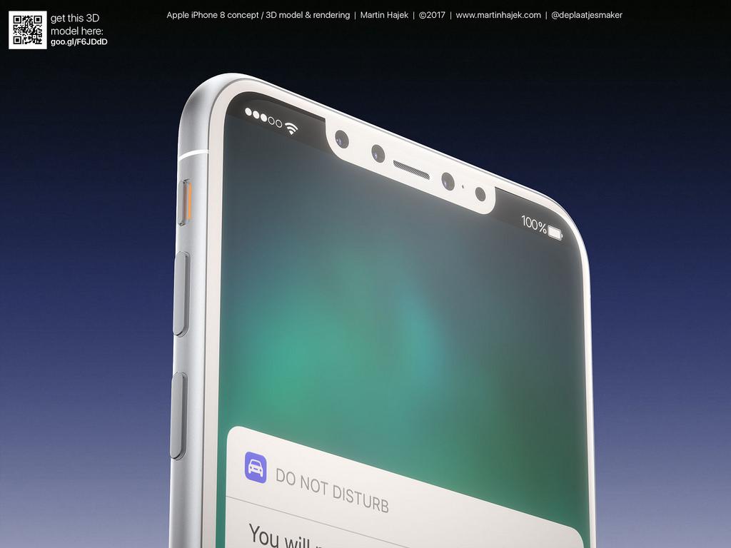 Cận cảnh vẻ đẹp mê mẩn của iPhone 8 có thể làm bạn dốc hết hầu bao để mua ngay - Ảnh 9.