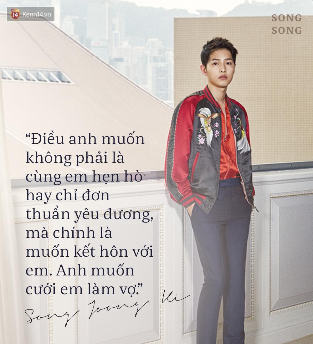 Xem cách Song Joong Ki và Song Hye Kyo tỏ tình mới thấy: Một khi đã yêu, mọi lời nói đều có thể ngôn tình hóa - Ảnh 17.