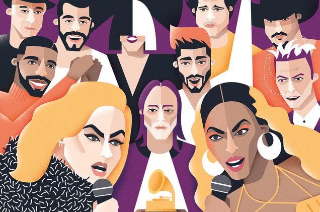 Grammy 2017: Adele khóc, làm Beyoncé và khán giả rơm rớm nước mắt khi nhận giải Album của năm - Ảnh 1.